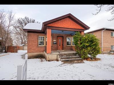 Salt Lake County Single Family Home For Sale: 129 E Coatsville
