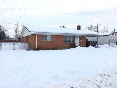 Brigham City Single Family Home For Sale: 724 Fairview Dr