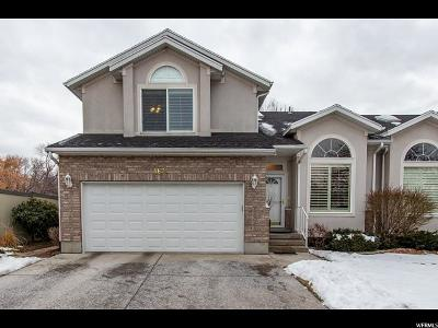 Holladay Townhouse For Sale: 5673 S Highland Park Ct E #5673