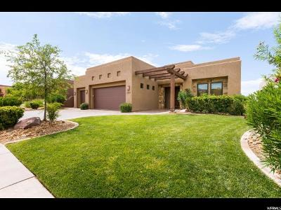 St. George Single Family Home For Sale: 1659 W Red Cloud Dr