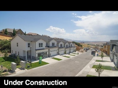 Lehi Townhouse For Sale: 4941 N Marble Fox Way #122
