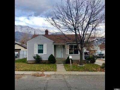Pleasant Grove Single Family Home For Sale: 150 N Main St