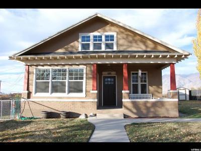 Spanish Fork Single Family Home For Sale: 889 E Center St