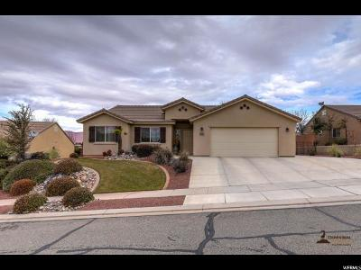 St. George Single Family Home For Sale: 2192 W 1270 N