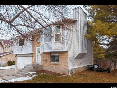 West Jordan Single Family Home For Sale: 6739 S Clernates Dr W