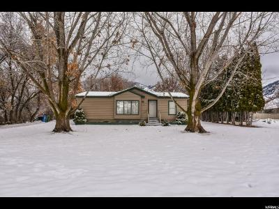 Single Family Home For Sale: 270 S 200 W