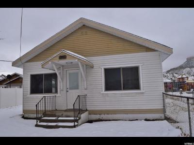 Helper UT Single Family Home For Sale: $95,000