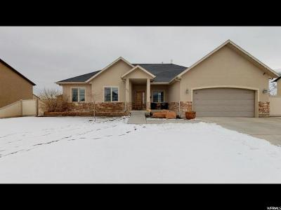 Springville Single Family Home For Sale: 676 W 600 S