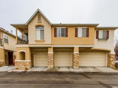 West Jordan Townhouse For Sale: 6762 S Harbonne Ln