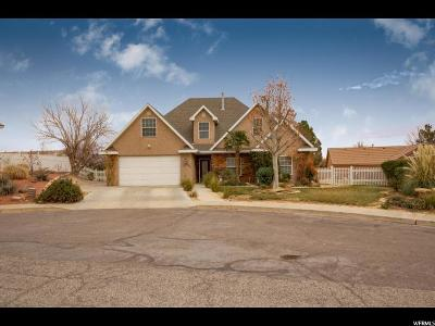 St. George Single Family Home For Sale: 1031 S 500 Cir E