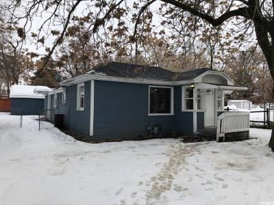 Brigham City Single Family Home For Sale: 144 N 300 W