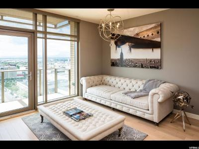 Salt Lake City Condo For Sale: 99 W South Temple St #1703