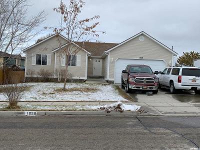 Tooele Single Family Home For Sale: 1028 Timpie Rd S