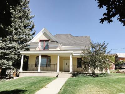 Cache County Single Family Home For Sale: 443 S State