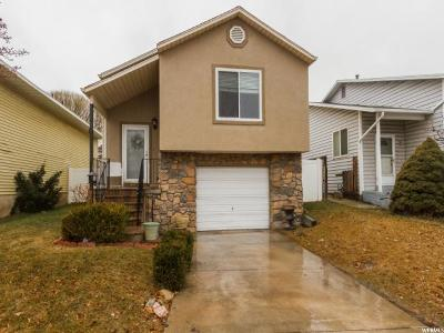 West Valley City Single Family Home For Sale: 3178 S Jason Pl