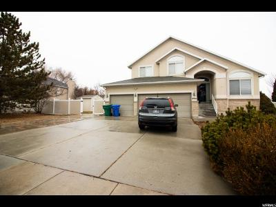 West Jordan Single Family Home Backup: 8932 S 2070 W