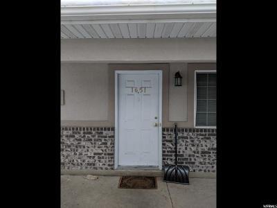 Logan Townhouse For Sale: 1651 S Talon Dr