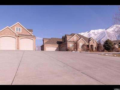 Mapleton Single Family Home For Sale: 662 Overlook Ridge Cir