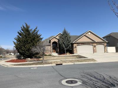 Draper Single Family Home For Sale: 483 Crystal Spring Dr