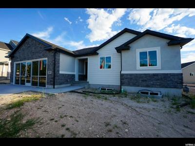 Tooele Single Family Home For Sale: 1427 N Clemente W