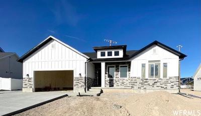 Riverton Single Family Home For Sale: 11978 S Kenadi View Way #210