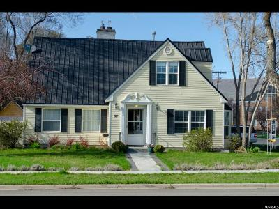 Wasatch County Single Family Home For Sale: 87 E 100 N