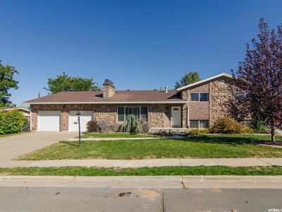 Kaysville Single Family Home For Sale: 579 E 300 N