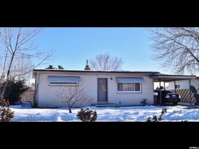 Carbon County Single Family Home For Sale: 826 N 800 E