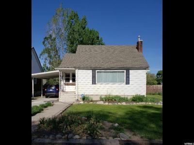 Tremonton Single Family Home Under Contract: 226 S Tremont St.