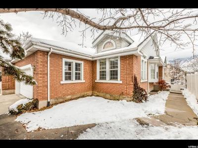 Salt Lake City Condo For Sale: 4475 S Manor Ridge Pl E