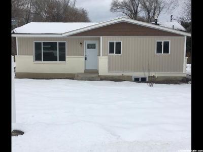 Hyrum Single Family Home For Sale: 665 E Park Dr