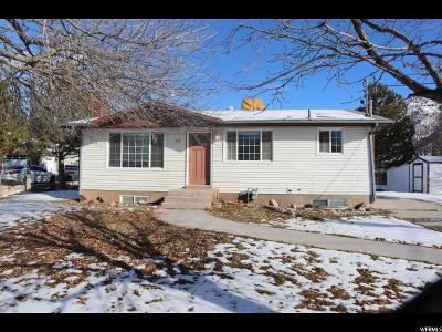 Nephi Single Family Home Under Contract: 230 N 900 E