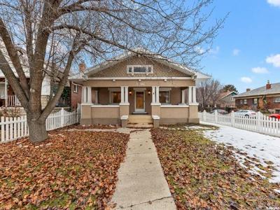 Salt Lake City Single Family Home For Sale: 1796 S 900 St E