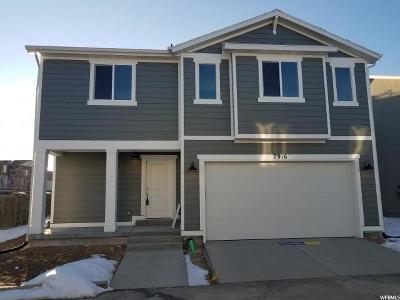 West Jordan Single Family Home For Sale: 7916 S Hestia Ct W #111
