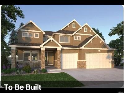 American Fork Single Family Home For Sale: 1280 E 482 N #321