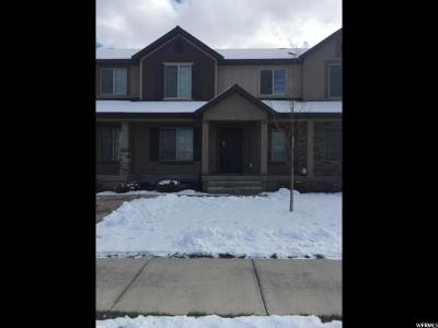 Santaquin Townhouse For Sale: 66 W Gingergold Rd N