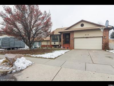 Layton Single Family Home For Sale: 632 S 1150 W