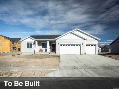 Santaquin Single Family Home For Sale: 988 S Red Ledges Rd #81