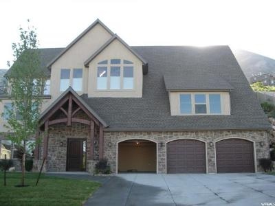 Cedar Hills Single Family Home Under Contract: 10278 Tamarack Way