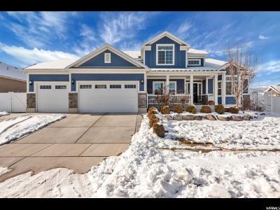 Herriman Single Family Home For Sale: 14122 S Black Sage Dr