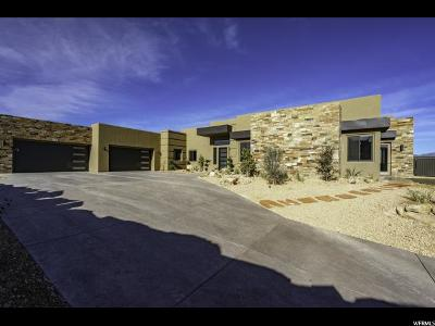 St. George Single Family Home For Sale: 1998 S Pinnacle Cir
