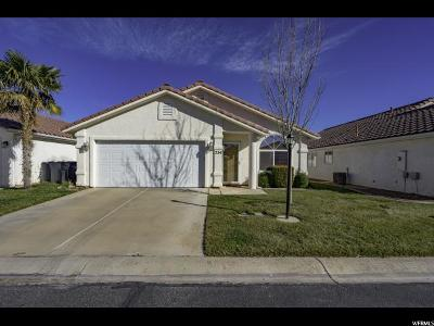 St. George Single Family Home For Sale: 2050 W Canyon Dr #234