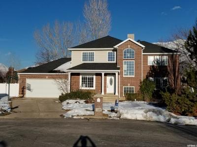 Layton Single Family Home Under Contract: 1952 N 2050 E