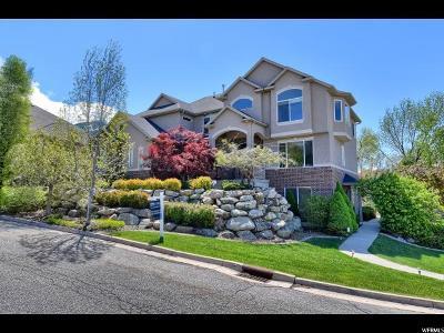 Layton Single Family Home For Sale: 3060 E Canyon Creek Cir N