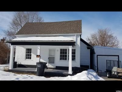 Brigham City Single Family Home For Sale: 343 N 200 W