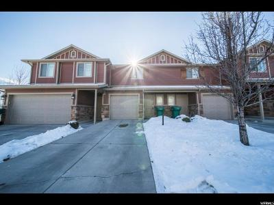 Layton Townhouse For Sale: 1790 E Whitetail Way