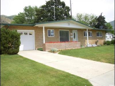 Brigham City Single Family Home For Sale: 540 N 600 E