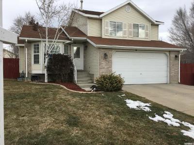 West Jordan UT Single Family Home For Sale: $319,900