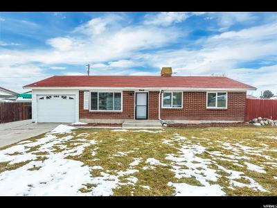 West Valley City Single Family Home For Sale: 3895 S 3520 W