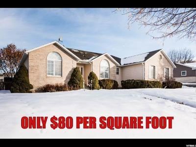 Smithfield Single Family Home For Sale: 529 E 120 S
